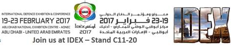 International Defence Exhibition 19-23 February 2017 Abu Dhabi
